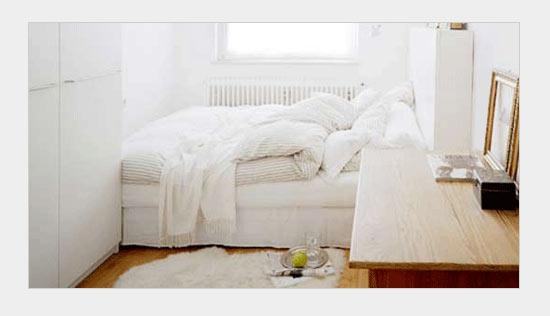 спокойный дизайн спальни