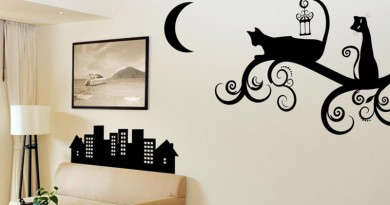 Принты в интерьере – трафареты для дизайна и наклейки на стену: как правильно использовать