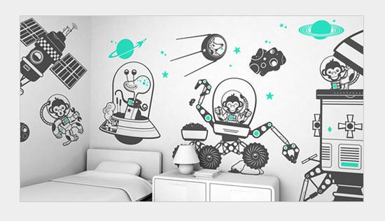 Принты для стен в детской комнате