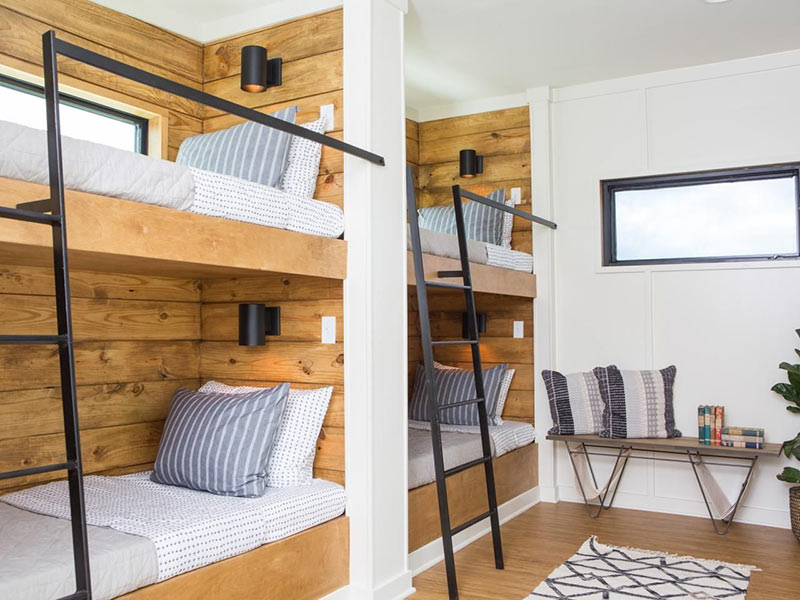 Детская спальня в стиле купе