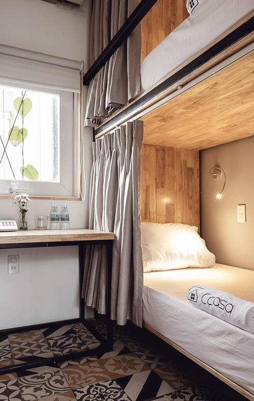 спальные места в спальне как в купе поезда