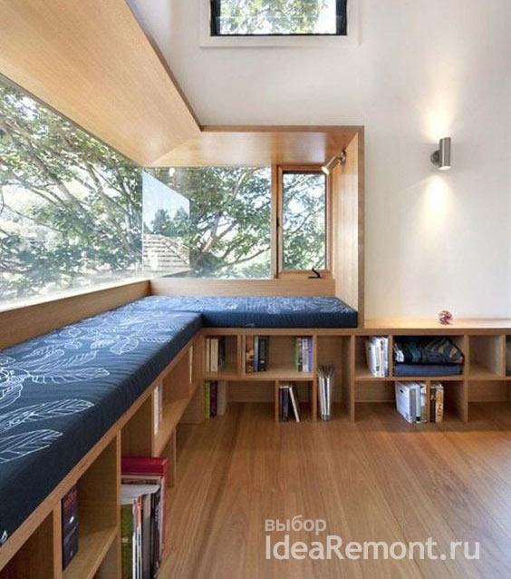 Панорамное окно - самое современная идея планировки