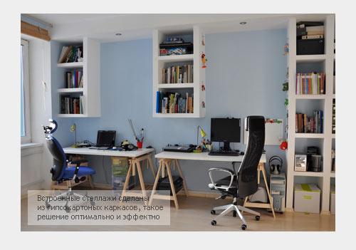 Рабочее место в дизайне квартиры