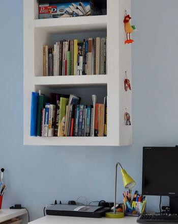 Встроенная мебель из гипсокартона