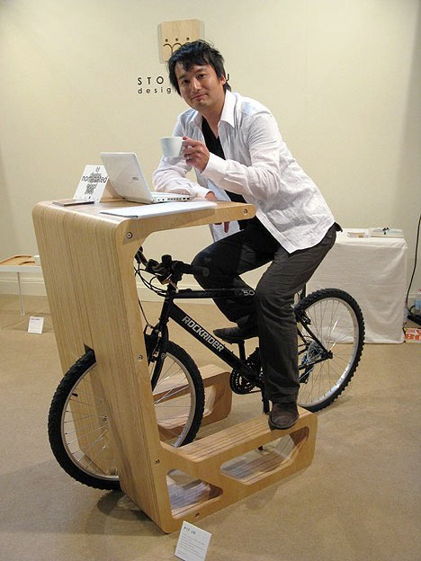 Хранение велосипеда в квартире. Фото Japan's Store Muu Design Studio