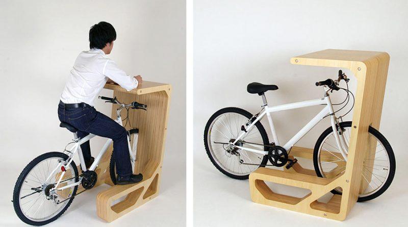 Велосипед как модная мебель