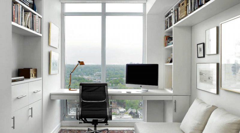 Кабинет для маленькой квартиры