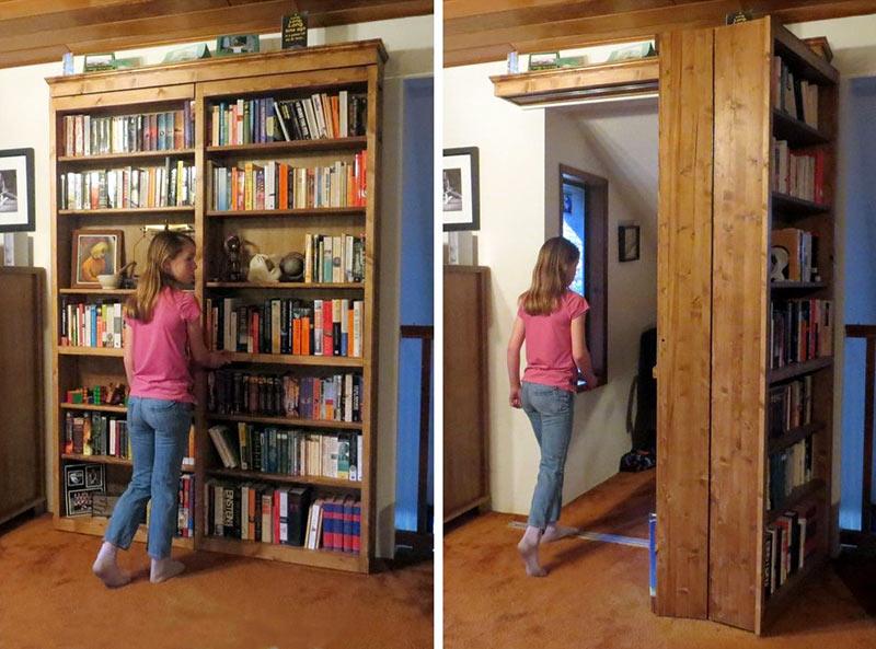 пример замаскированного дверного проема
