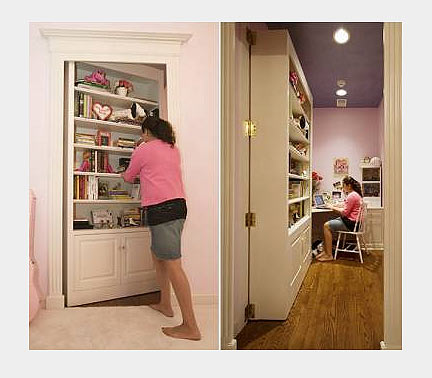 Скрытая межкомнатная дверь