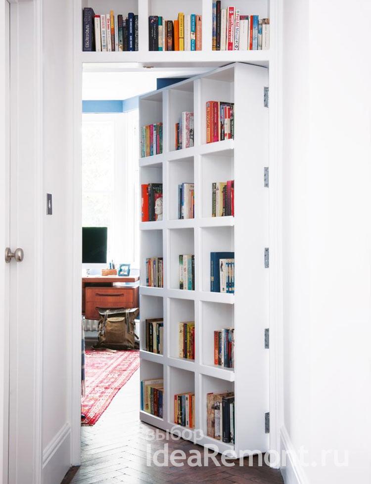 дизайн мебели - книжный стеллаж перегородка