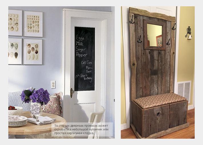 Фальш-дверь или простая иммитация