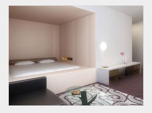 Спальня без кровати.