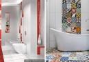Ванная комната: единая плитка для пола и стен
