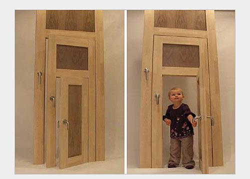Забавные двери в детскую комнату