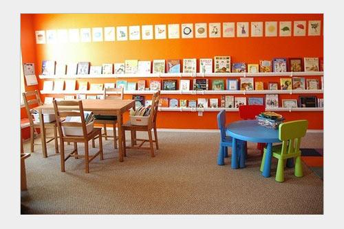 читальня для детской комнаты