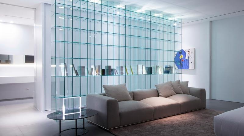 Применение стекла в интерьерах