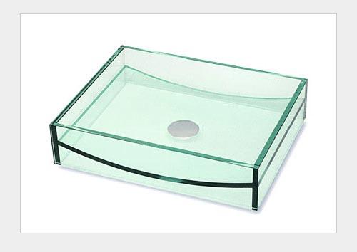 Сантехника из стекла: раковина.