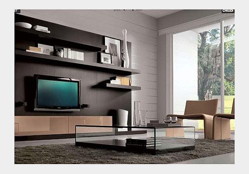 """Телевизор в мебельной """"стенке"""""""
