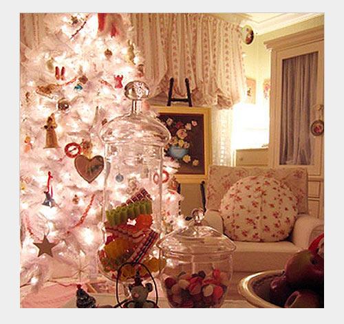 Новогодние украшения в доме