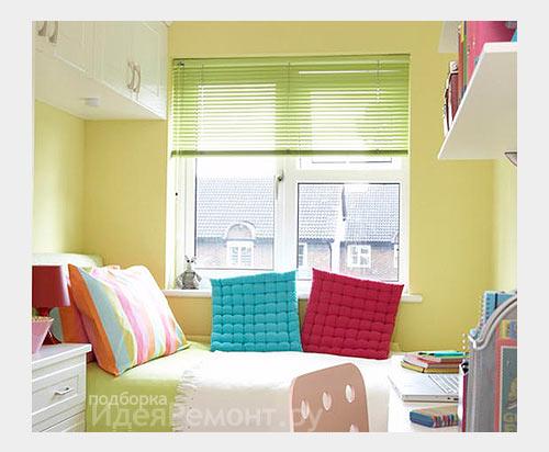 Украсить маленькую комнату своими руками