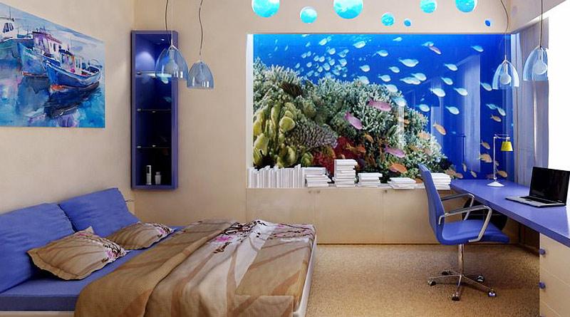 Картинки по запросу аквариум дизайн помещения