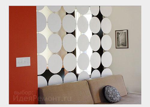 Натяжные декоративные перегородки в дизайне интерьера. Идеи для ремонта, фото