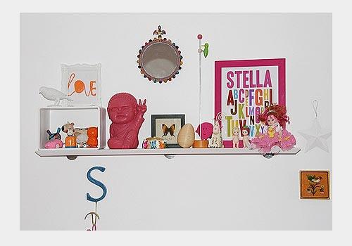 На фото: декор в детской комната