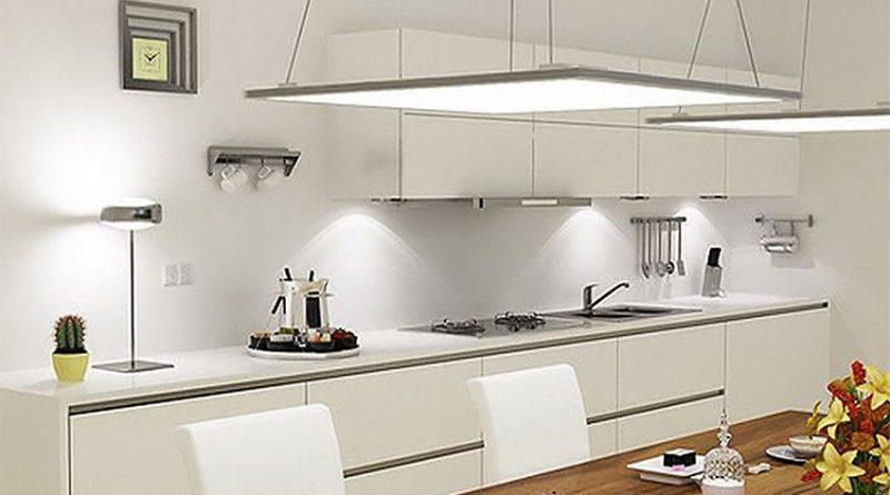 Идея освещения квартиры: светодиодные панели!