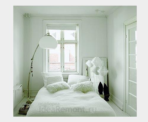 На фото: в белой спальне важны все детали