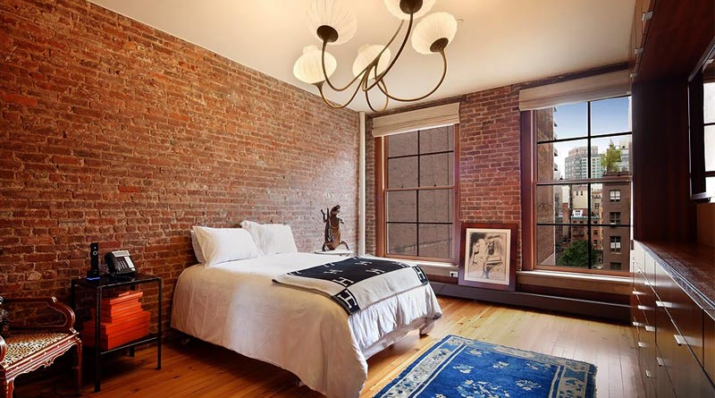 Дизайн стен: отделка кирпичом