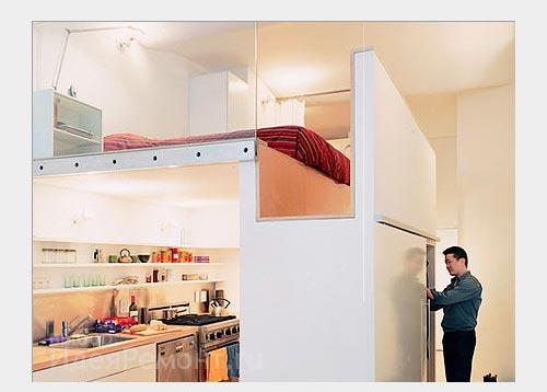На фото: вспомогательные стеклянные перегородки