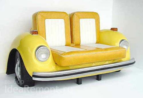 диван в стиле-поп-арт