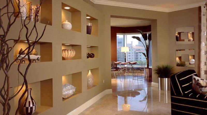 Ниши в квартире: идеи дизайна
