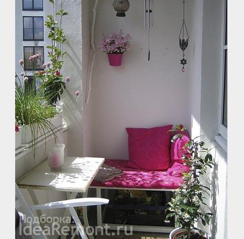Ремонт балкона: идеи декора