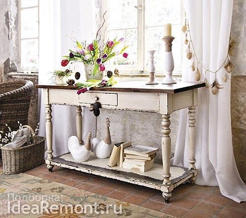 Антикварная мебель, подчеркивает стиль