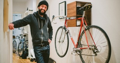 Велосипед в квартире