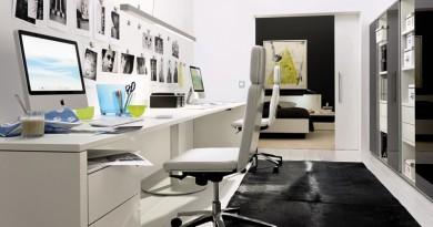 Домашний офис в интерьере квартиры