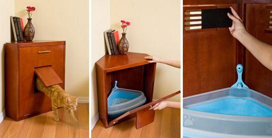 угловая мебель - домик для кошки