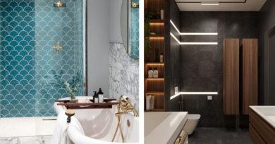 7 секретов интерьера стильной ванной комнаты