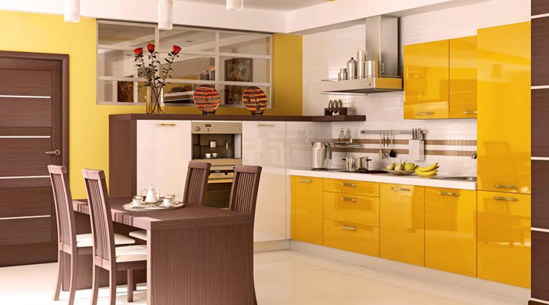 Цвет в кухне