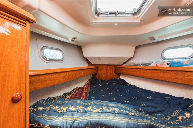 Спальня как в яхте