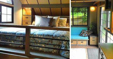 Идеальный современный дачный домик на 18 кв. м