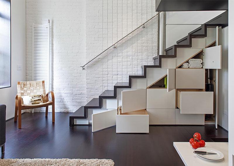 Лестница как шкаф