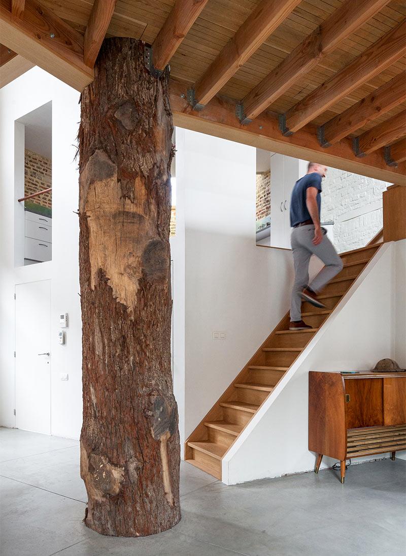 Многоуровневая квартира в эко стиле