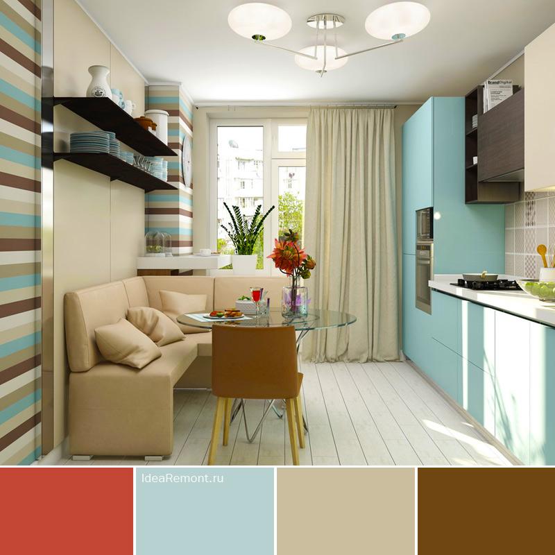 На фото: как правильно подобрать цвет в интерьере кухни