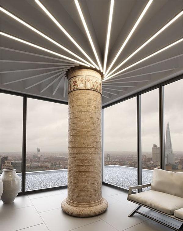 Система потолочных светильников