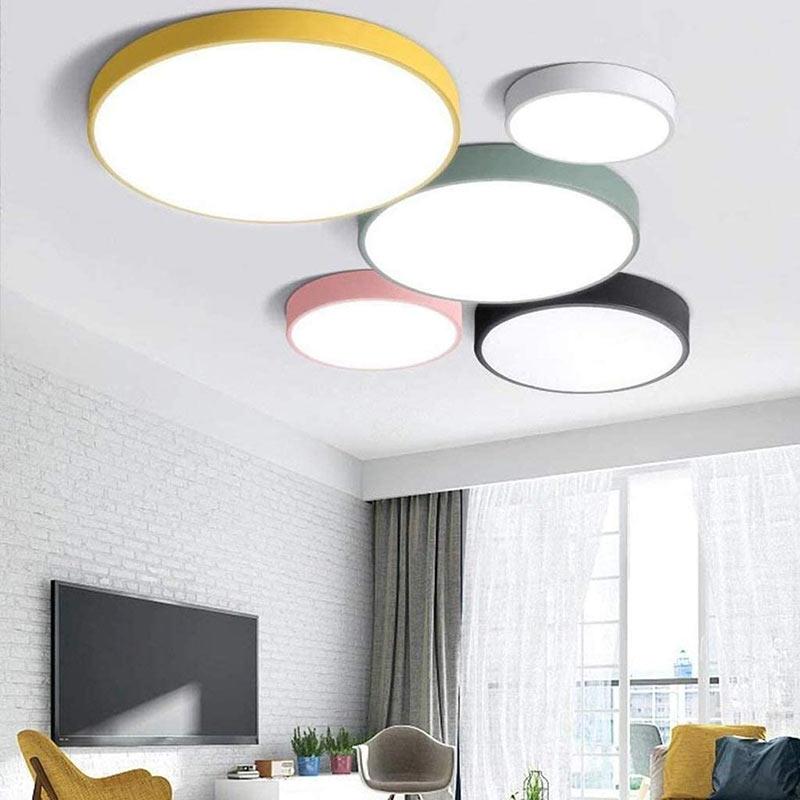 Футуристичные потолочные светильники