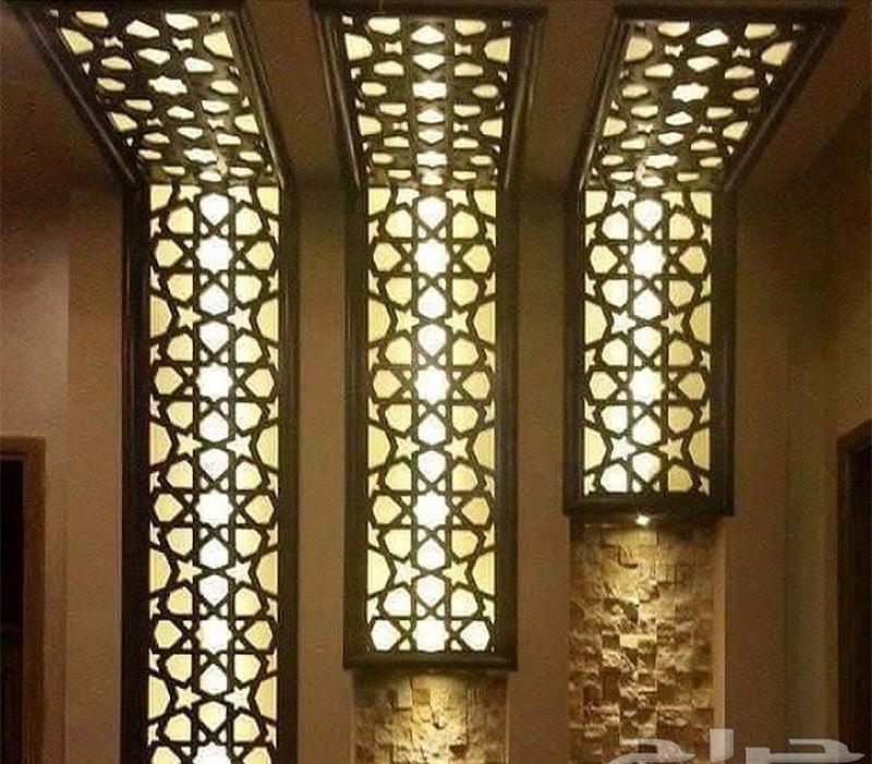 Ажурные световые панели для потолка и стен