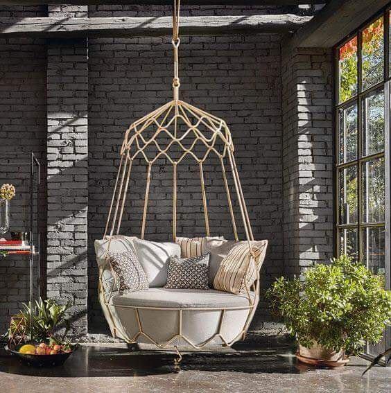 Подвесное кресло для отдыха