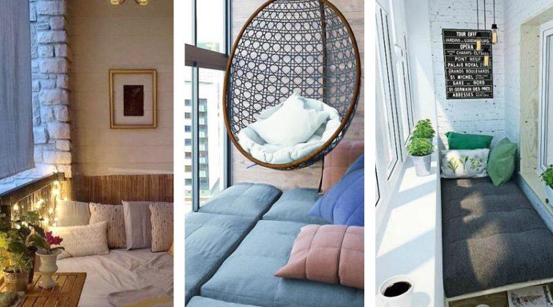 Спальня на лоджии или балконе. Почему бы и нет? 11 фото